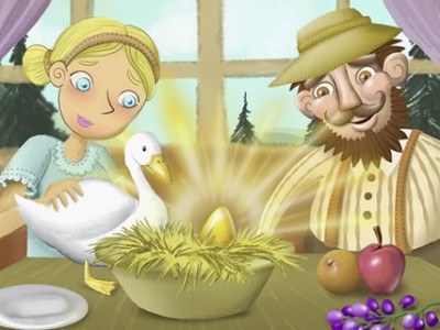 Η κότα που γεννούσε χρυσά αυγά
